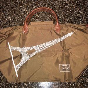 Longchamp Le Pliage Eiffel Tower Bag